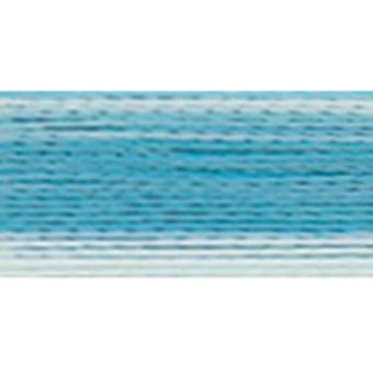 Rayon Super Strength Thread Variegated Colors 700 Yards 3Cc Turquoise 300V 2352