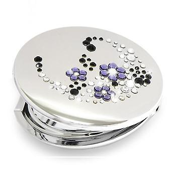 Miroir de poche violet ACSP-06.2