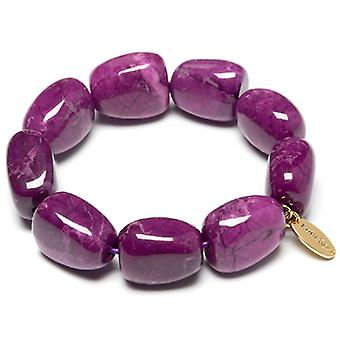 Lola Rose Oscy armband Jewelled lila magnesit sten