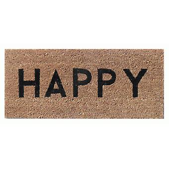 Aramis Natural Happy Doormat (Home , Textile , Doormats)