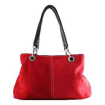 CTM ladies handbag suede leather Made in Italy