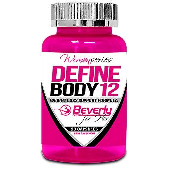 Beverly Nutrition Define Body 12 (Weight Loss Support Formula) 90 Capsulas
