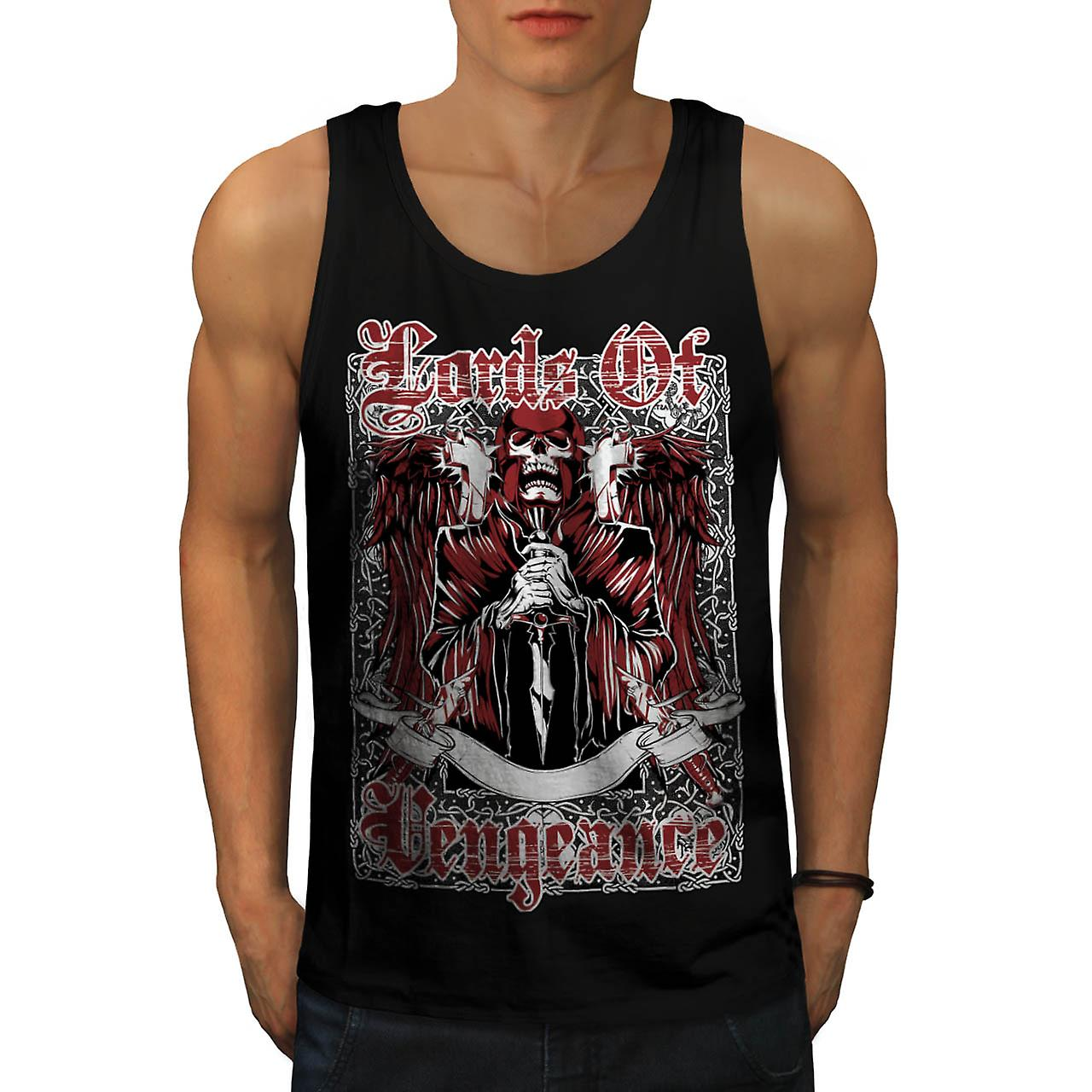 Lords hevn Monster Skull menn sort Tank topp | Wellcoda
