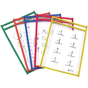 Reusable Dry-Erase Pockets 6