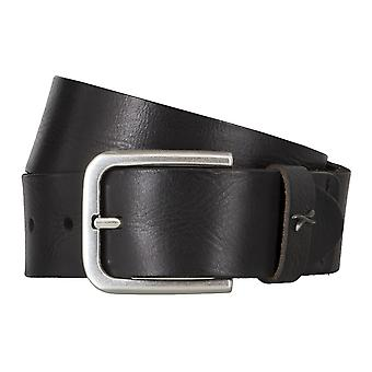 BRAX belts men's belts leather belt black 4684