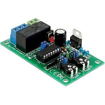Timer Assembly kit Velleman 12 Vdc, 24 Vdc 1 secs - 60 hrs