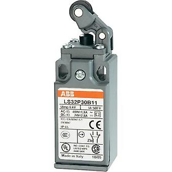 Limit switch 400 Vac 1.8 A Lever momentary ABB LS32P30B11 IP65 1 pc(s)