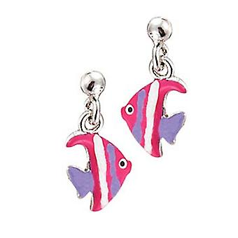 Scout Children earrings Stecher silverfish pink purple girl 262117100