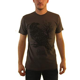 Game Of Thrones tre Eyed Crow mænd grå T-shirt
