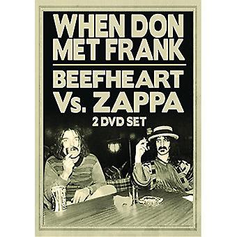 Forskellige kunstner - Beefheart vs Zappa: når Donmet Frank [DVD] USA import