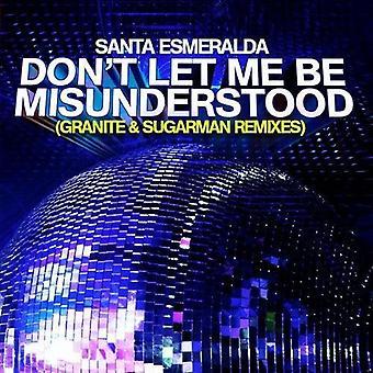Santa Esmeralda - ikke la meg bli misforstått (granitt & Sugarman [DVD] USA import