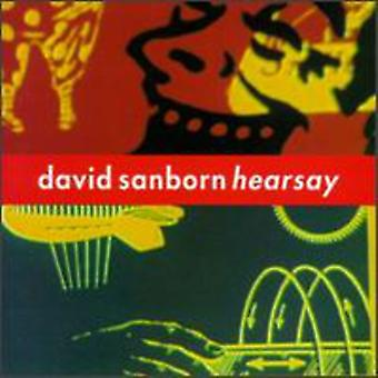 David Sanborn - importación de USA de oídas [CD]