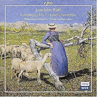 J. Raff - Joachim Raff: Symphony No. 7; Jubel-Overture [CD] USA import
