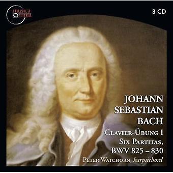 Bach - Johann Sebastian Bach: Clavier - Bung I - seks Partitas, Bwv 825-830 [CD] USA importerer
