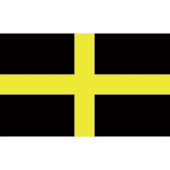 5 ft x 3 ft flagg - Wales - St David Cross