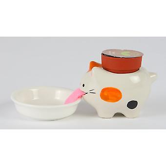 Peropon 猫芽花瓶いたずら野生のイチゴ