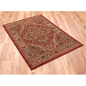 Ziegler 8788-Rouge Rectangle Tapis Tapis traditionnel