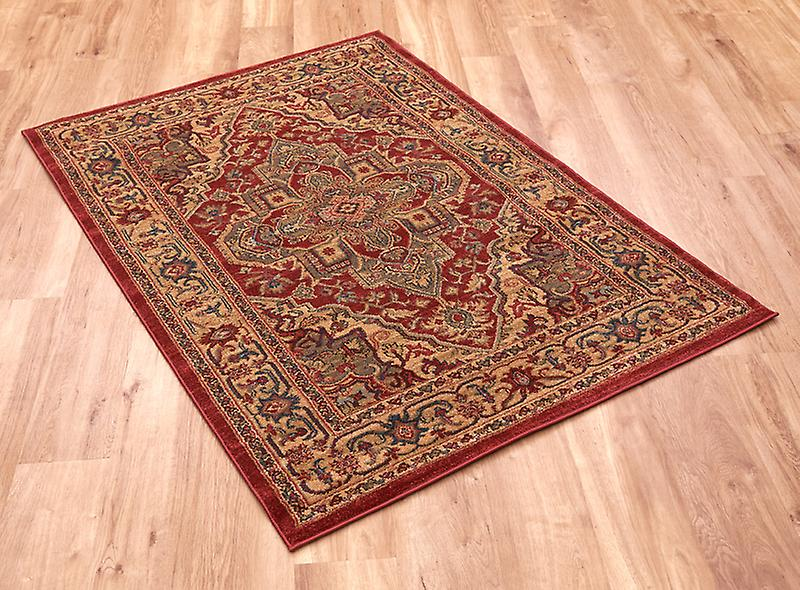 Ziegler 8788-Red Red  Rectangle Rugs Traditional Rugs