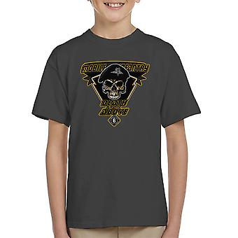 Death From Above Mobile Infantry Starship Troopers Kid's T-Shirt