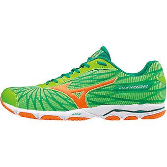 Mizuno men's running shoe competition wave Hitogami 4 green - J1GC178053