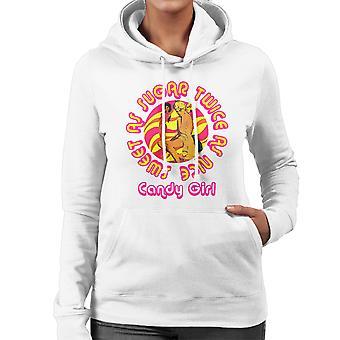 Candy Mädchen süß wie Zucker Twice As Nice Frauen das Sweatshirt mit Kapuze