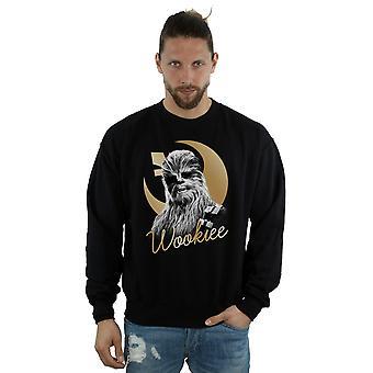 Star Wars le derniers Jedi or Chewbacca Sweatshirt masculine