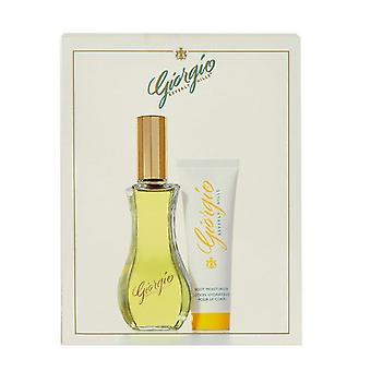 Giorgio Beverly Hills Giorgio Yellow Gift Set 90ml EDT + 50ml Body Lotion