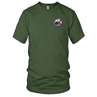 US Navy USS Whale SS-239 Embroidered Patch - Mens T Shirt