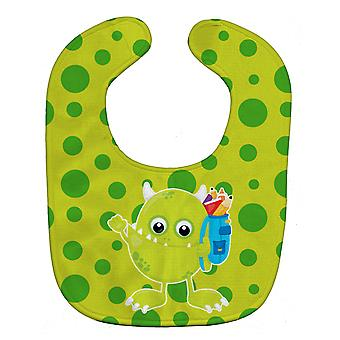 Каролинских сокровища BB8863BIB монстр зеленый ребенок нагрудник