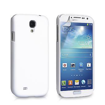 Yousave Аксессуары для Samsung Galaxy S4 гибридный жесткий дело - белый