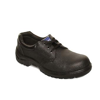 Dennys Unisex COMFORT GRIP Steel Toe Cap Catering Safety Shoe / Footwear
