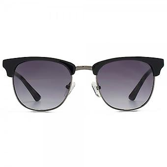 Guess Browline Style Sunglasses In Black