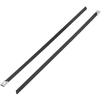 Cable tie 152 mm Black Coated KSS BSTC-152L