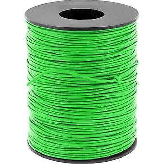 Jumper wire 1 x 0.20 mm² Green BELI-BECO D 105/10
