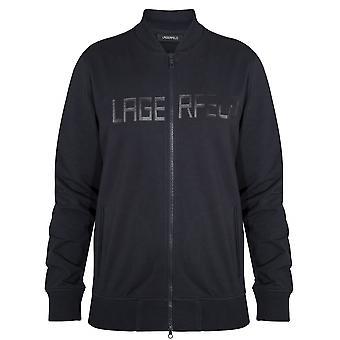Lagerfeld Lagerfeld Navy Zip Sweatshirt