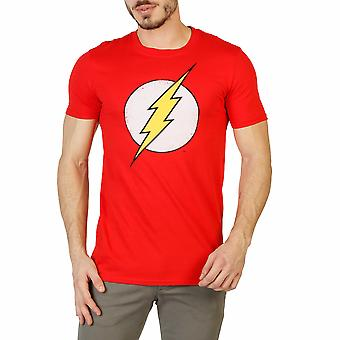 DC Comics Men T-shirts Red