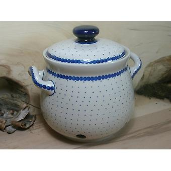 Garlic pot 900 ml, height 15 cm, 26 - Bunzlauer porcelain - BSN 7770 tradition