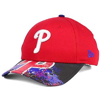 Philadelphia Phillies MLB New Era 9Twenty Splatter Snapback Hat