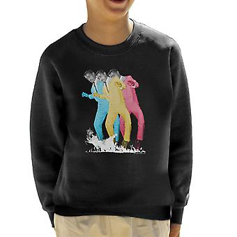 Sammy Davis Jr Pop Art Trio Kid's Sweatshirt