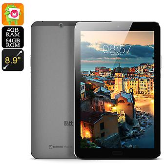 Cube X9 Tablet PC - Quad Core CPU, 4G RAM, Android 7.1, 8.9 Inch 2560x1600 Display, USB Type C, Wi-Fi