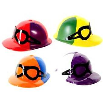 Jockey Caps with Goggles