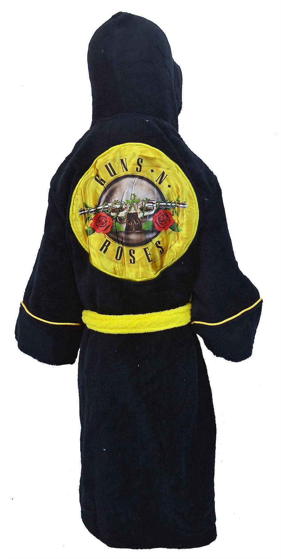 Guns and Roses Kids Dressing Gown / Bathrobe (boys girls children's child' robe) - Large