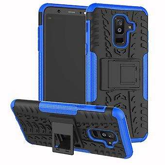 For Samsung Galaxy A6 plus A605 2018 hybrid case 2 piece SWL outdoor Blau bag case cover protection