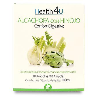 Health 4U Alcachofa con Hinojo 10 Ampollas (Herbalist's , Supplements)