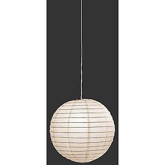 Trio Lighting Paper Young Living White Paper Pendant