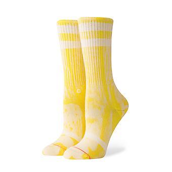 Stance Classic Uncommon Crew Socks - Yellow