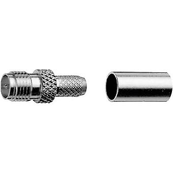 R-SMA connector Socket, straight 50 Ω Telegärtner J01151R0021