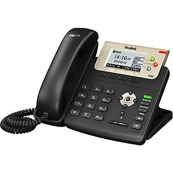 Corded VoIP Yealink SIP-T23G Headset connection, Hands-free Colour TFT/LCD Black