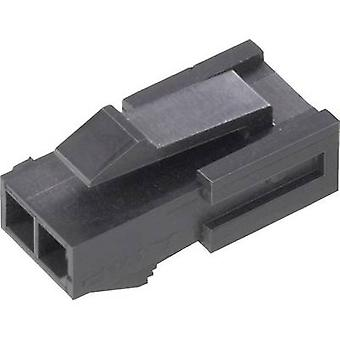 TE Connectivity 1445048-3 Pin enclosure - cable Micro-MATE-N-LOK Total number of pins 3 Contact spacing: 3 mm 1 pc(s)