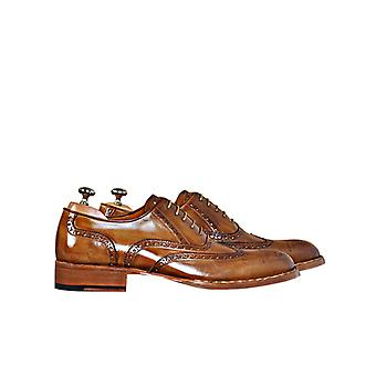 Handcrafted Premium Leather Lorenzo T Oxford Shoe